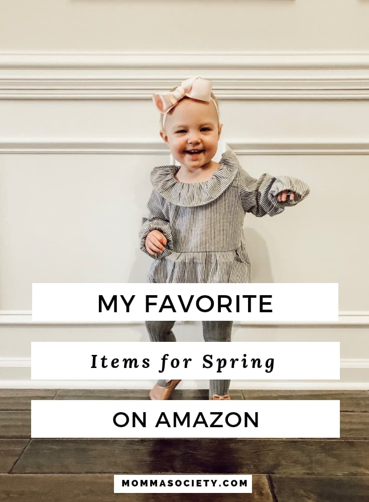 My Favorite Baby + Toddler Clothing Pieces for Spring on Amazon Fashion | Momma Society