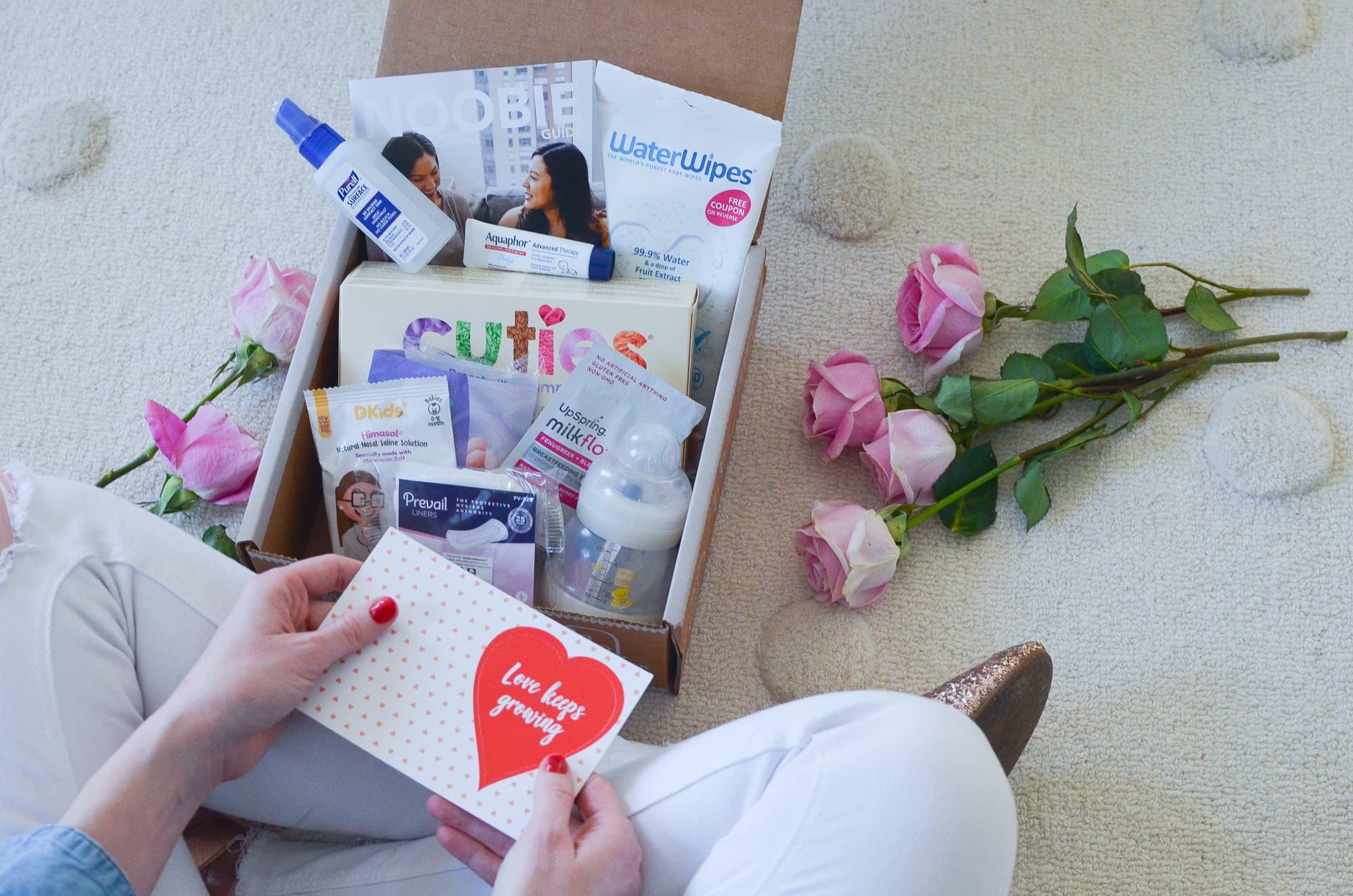 Noobie Pregnancy Box Review   Momma Society
