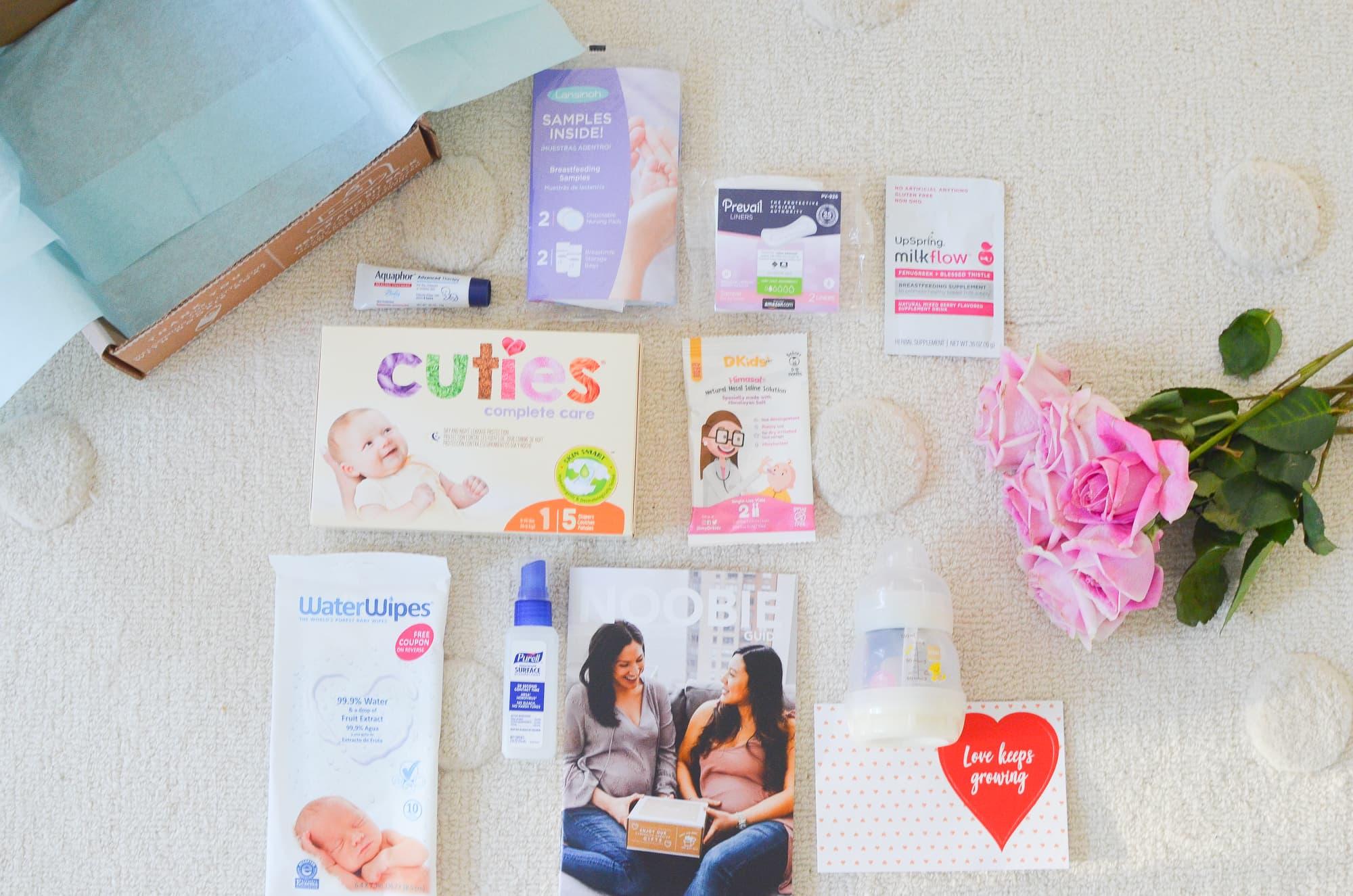 Noobie Pregnancy Box Review | Momma Society