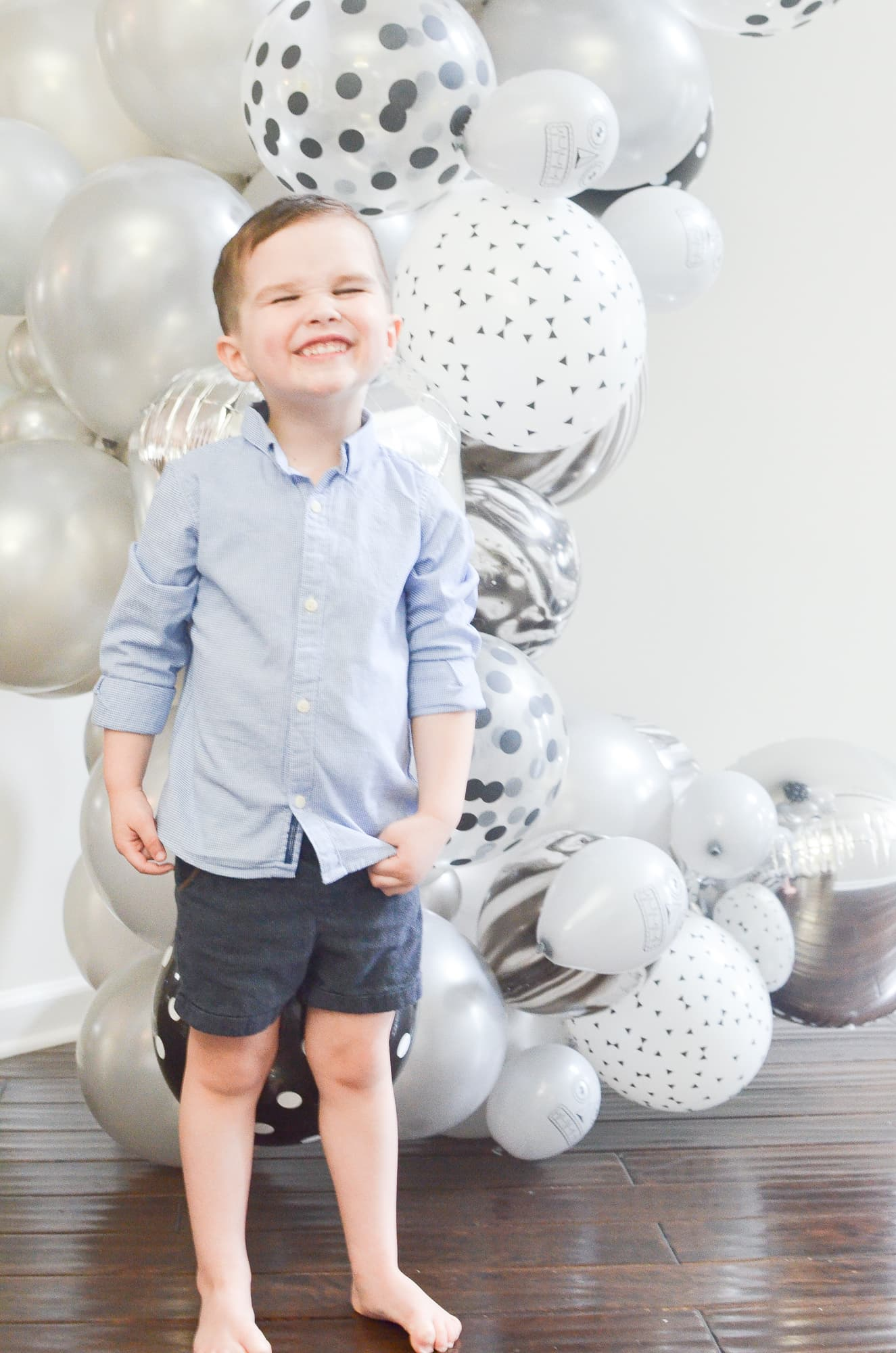 Brody's Robot Themed 4th Birthday | Momma Society