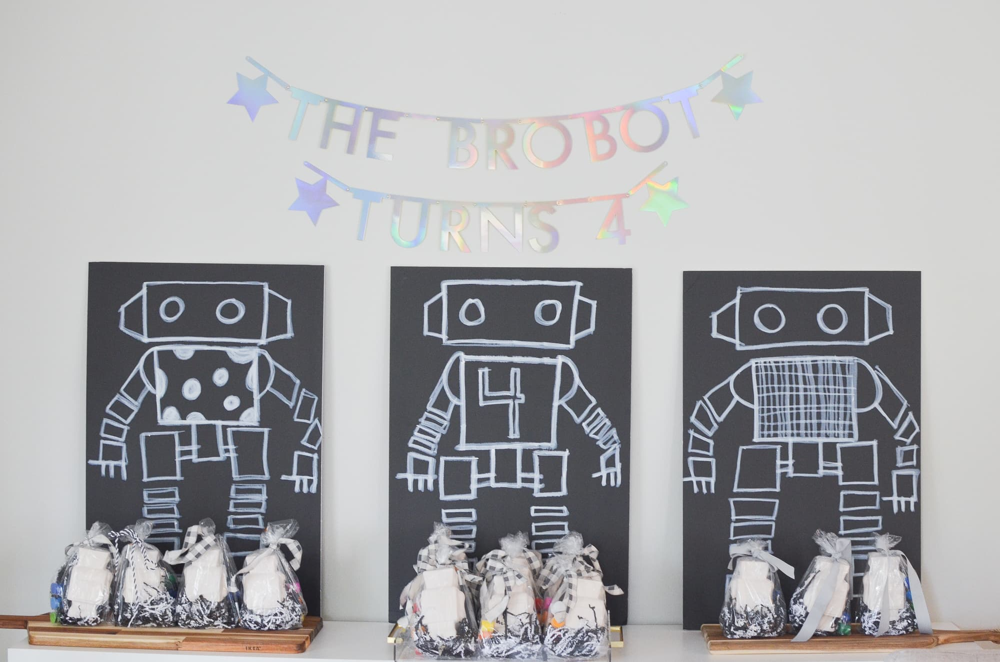 Robot Party Decorations | Momma Society