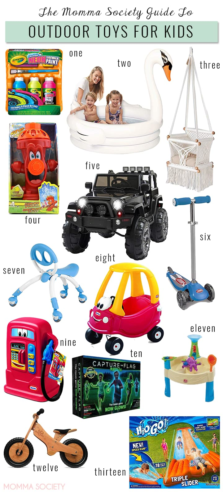 Our Favorite Outdoor Toys | Momma Society