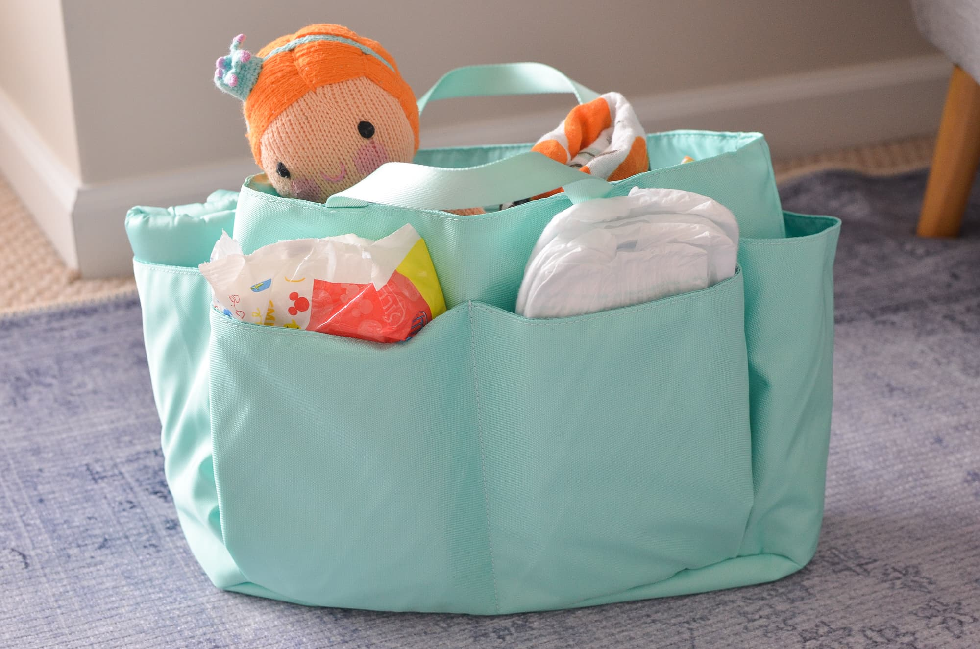 Keeping my diaper bag organized | Momma Society