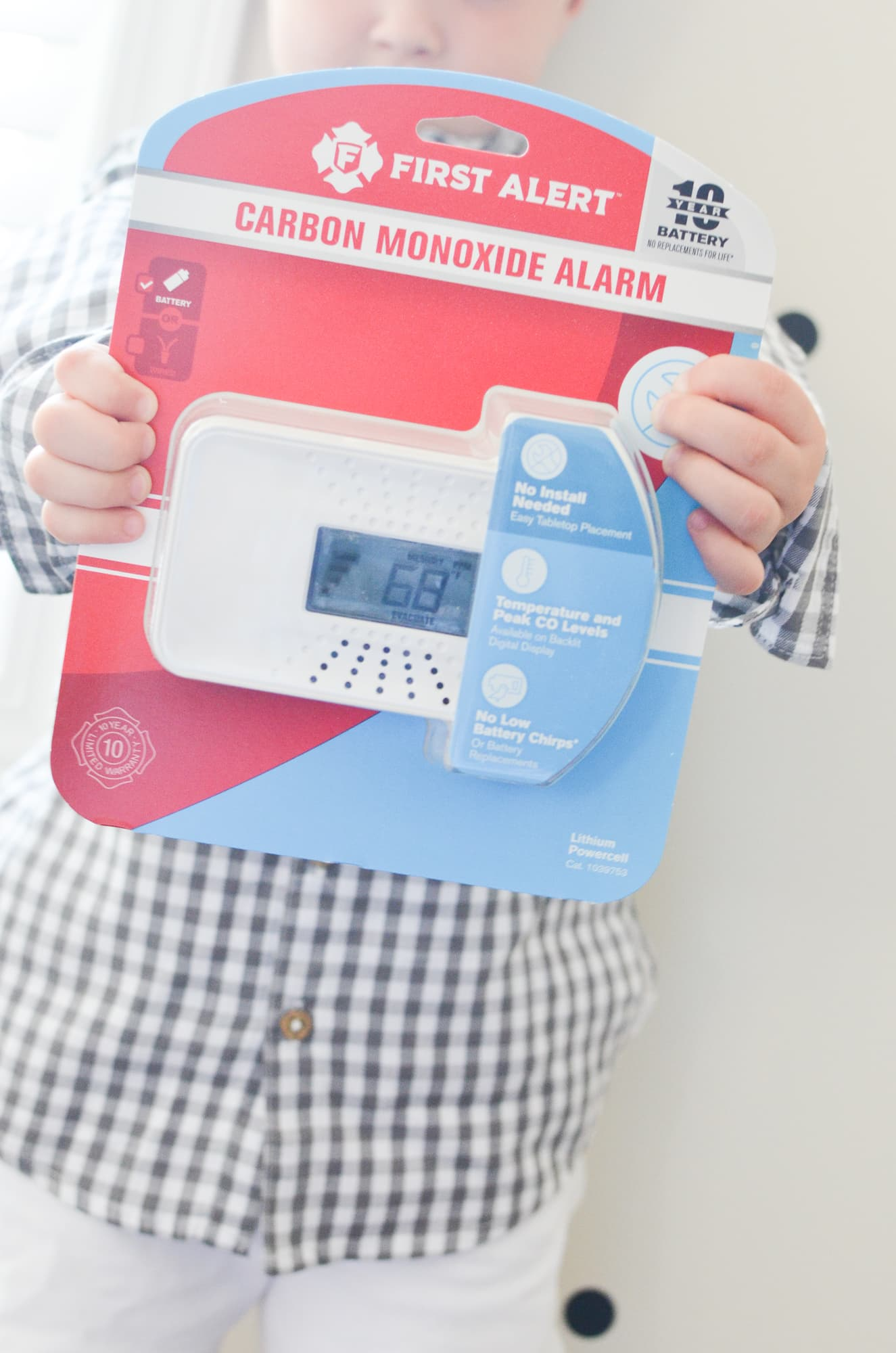 Carbon Monoxide Safety with First Alert | Momma Society