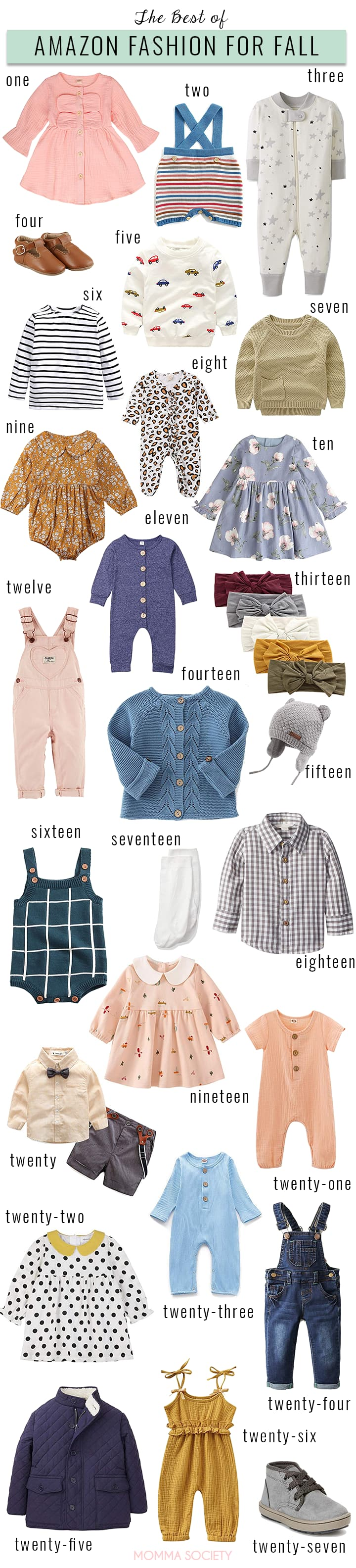 The Best of Amazon Fall Fashion for Babies + Toddlers   Momma Society