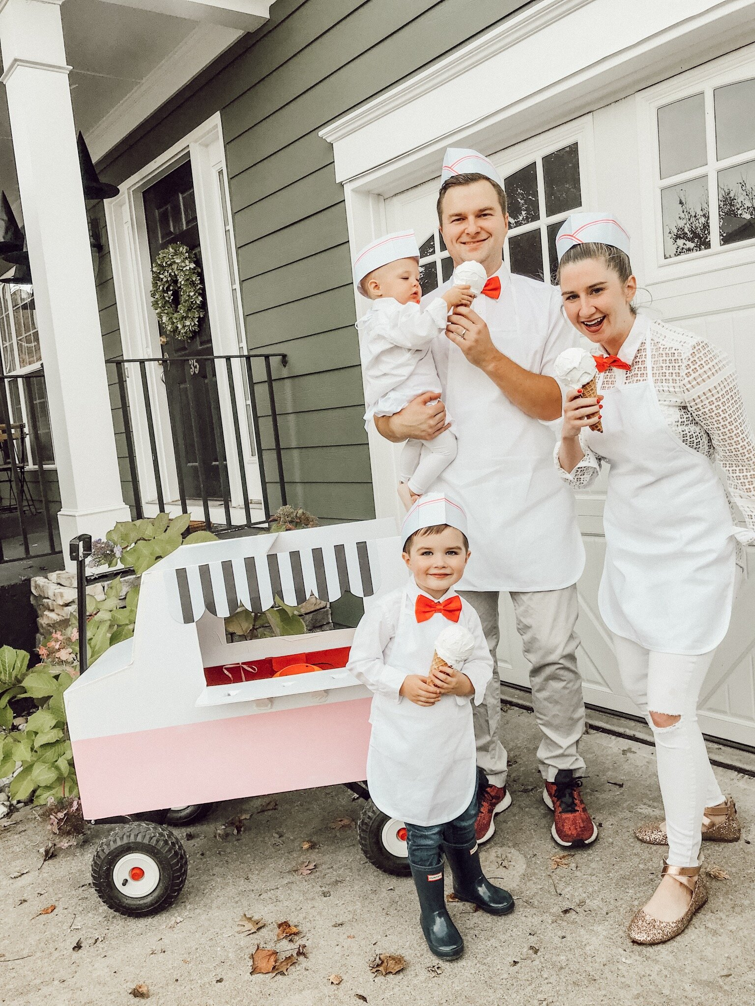 Ice Cream Truck Halloween Costume