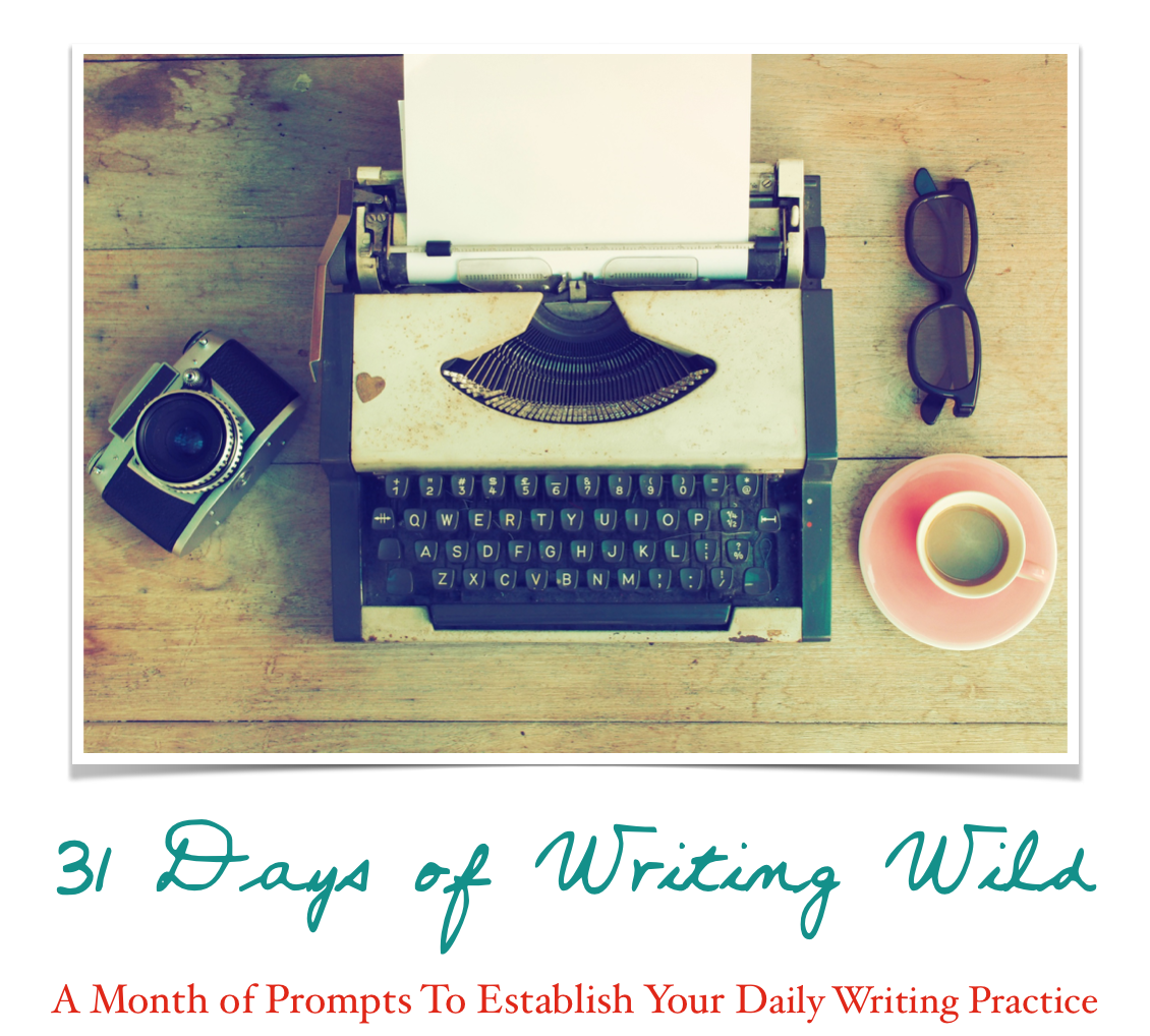 31 Days of Writing Wild -- FREE resource for subscribers