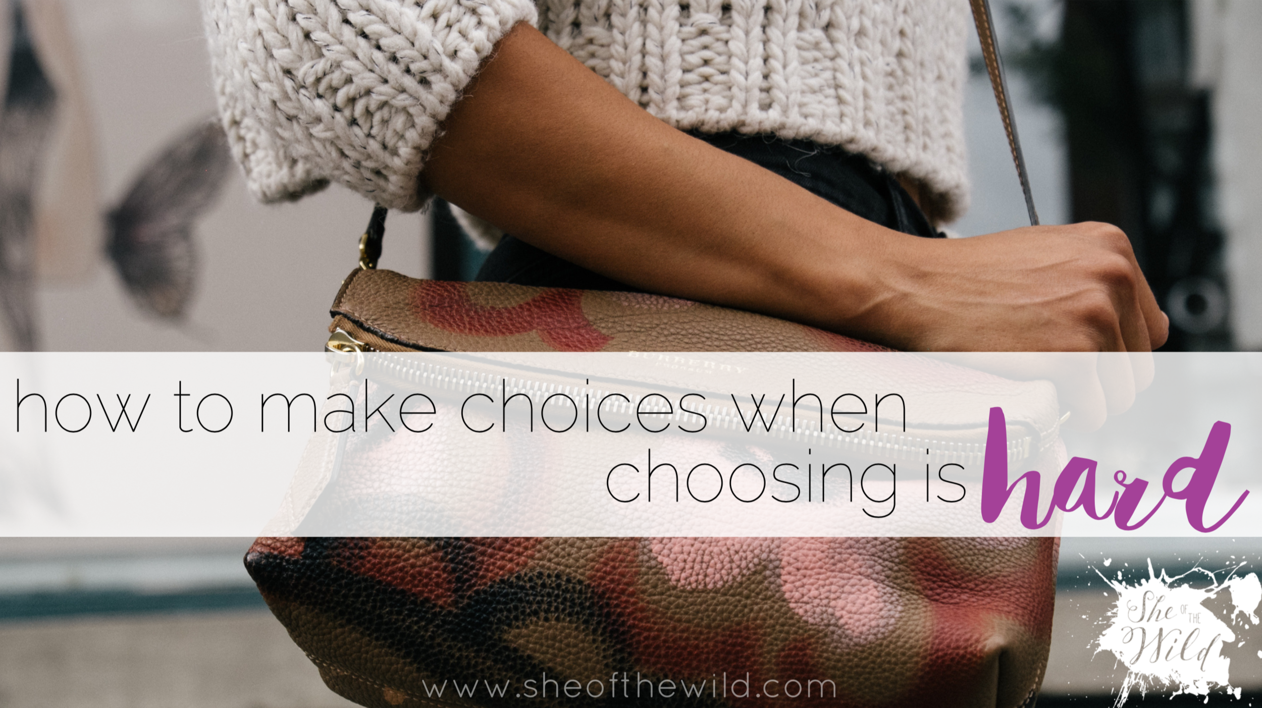 how to overcome choice paralysis