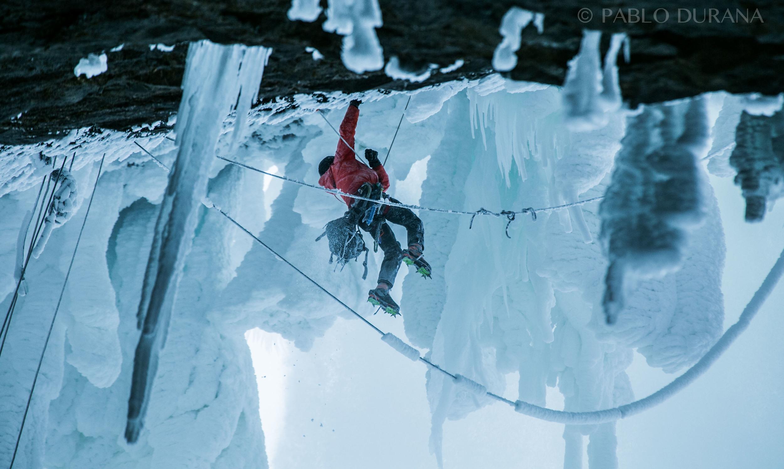 Will Gadd & Helmcken Falls   Canada