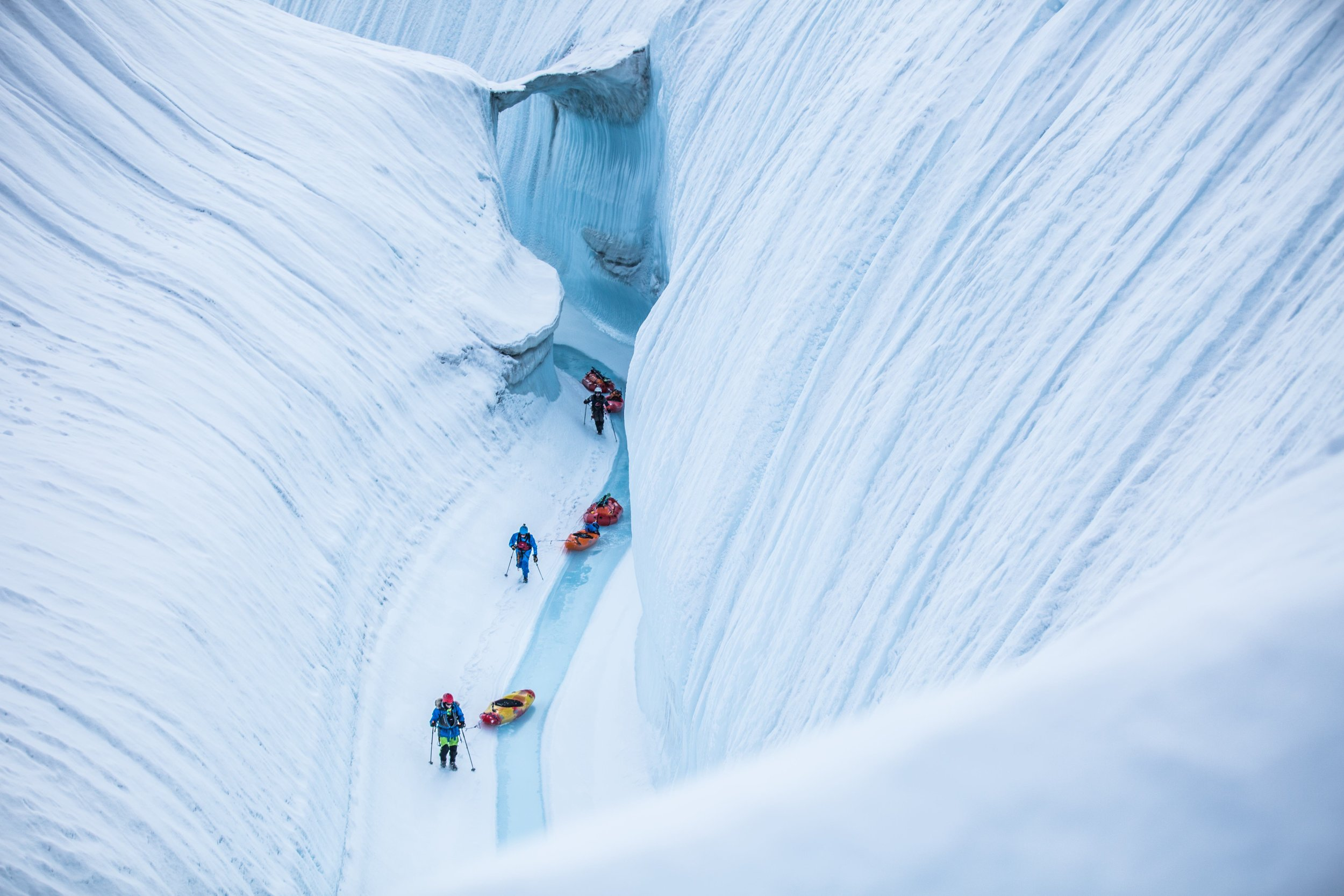 The Ice Canyon | Greenland
