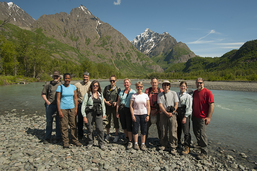 Summer Photography Class at the Eagle River Nature Center, June 13, 2015