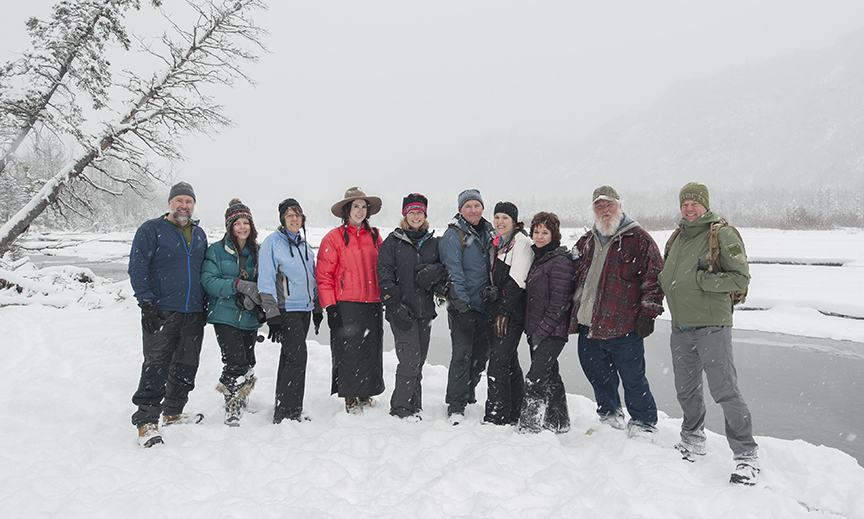 Winter Photography Class, Eagle River Nature Center, March 19, 2016
