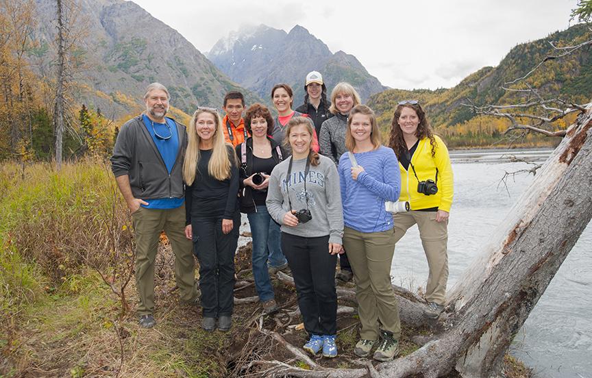 Fall Photography Class, Eagle River Nature Center, September 17, 2016