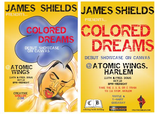 colored dreams flyer