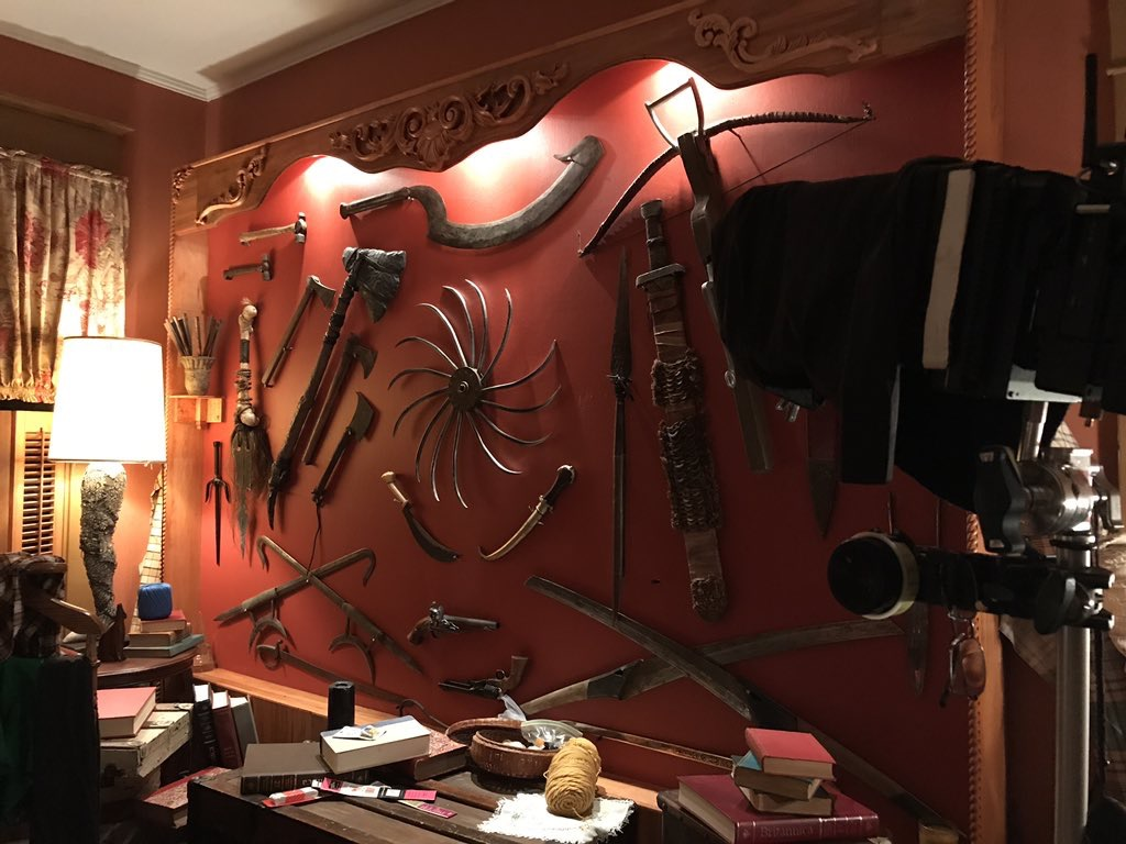 Weapon Wall for Stan Against Evil