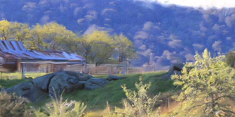 Farm Sheds near Polly McQuinns