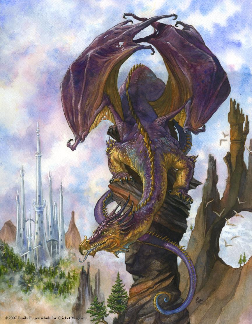 Purple Dragon's Perch