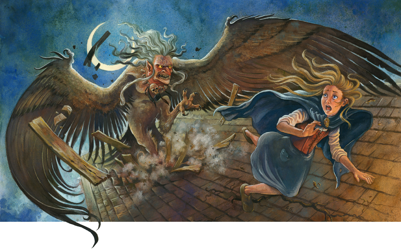 The Harpy Attacks!