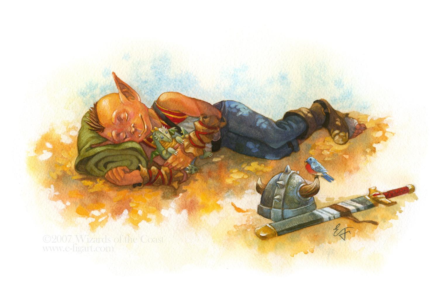 Goblin Kid Napping