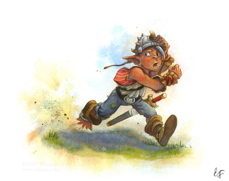 Goblin Kid Running
