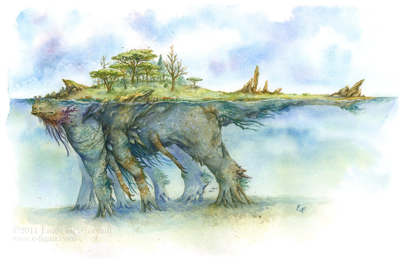 The Living Island