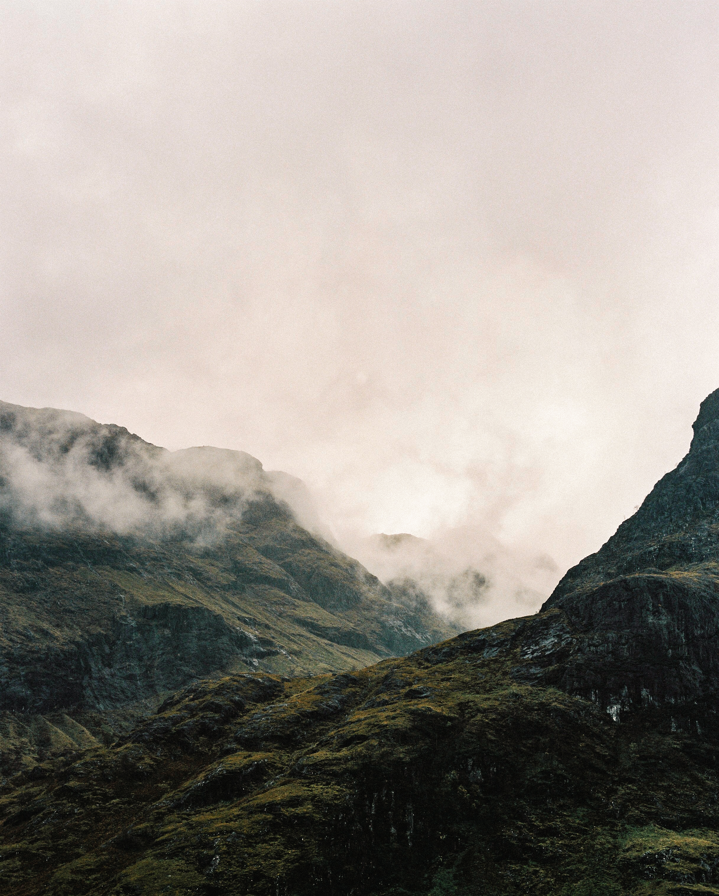 Between two of the Three Sisters, film