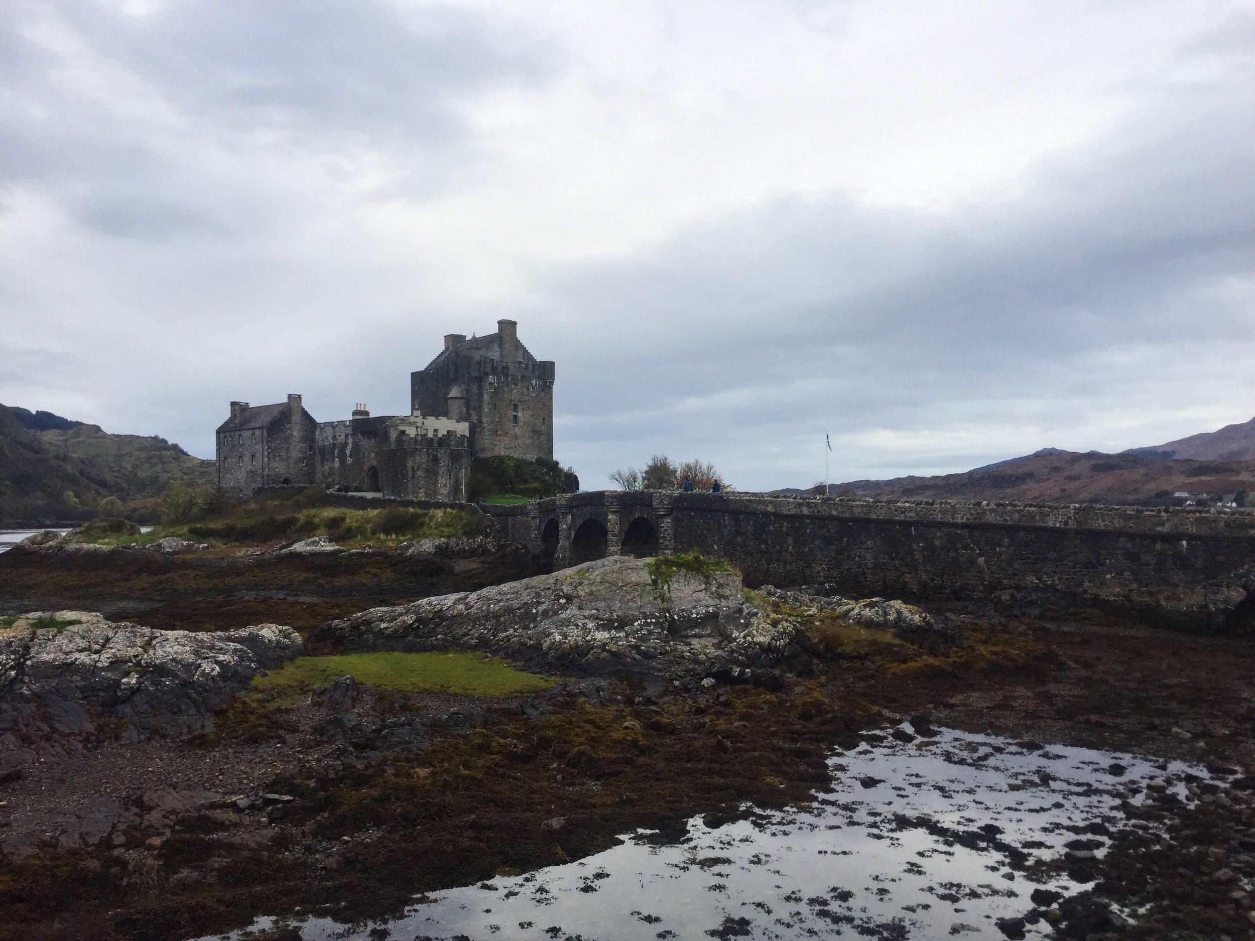 Eilean Donan Castle, iPhone
