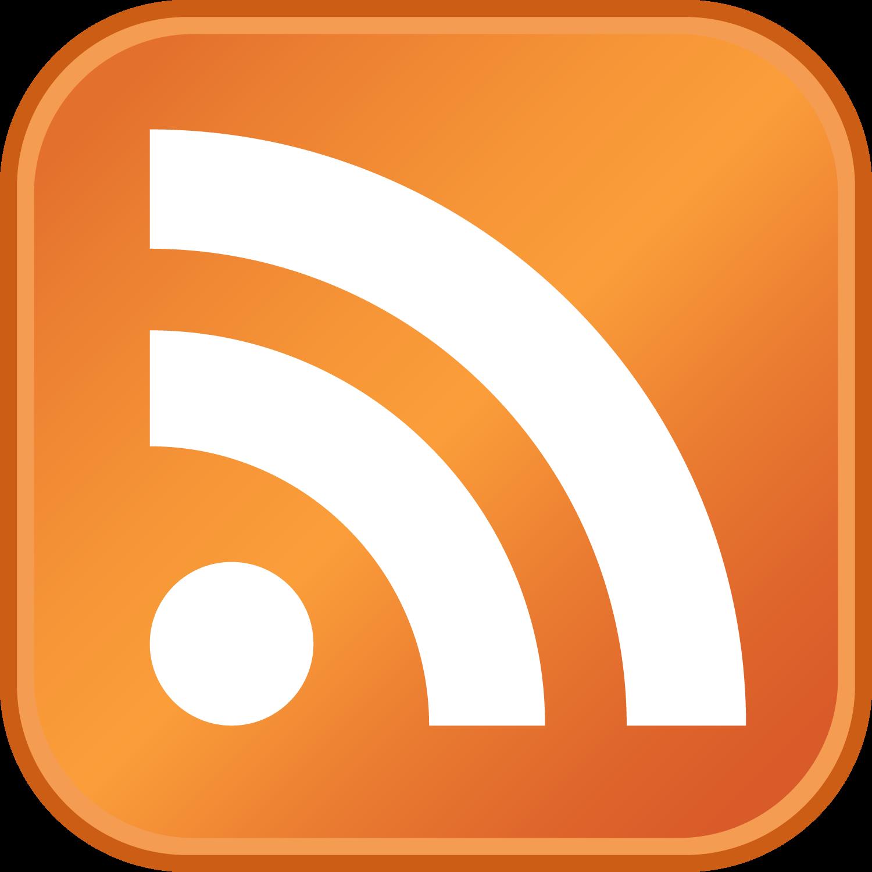 L'icône «RSS» (appelée aussi  Feed icon  ou  RSS icon ) créée par Stephen Horlander, designer pour Mozilla. Elle a été introduite en 2004 dans  Mozilla Firefox  pour indiquer qu'un flux internet était présent sur une page web. D'autres  navigateurs internet  l'on ensuite adoptée, faisant de celle-ci le standard incontournable connu aujourd'hui.