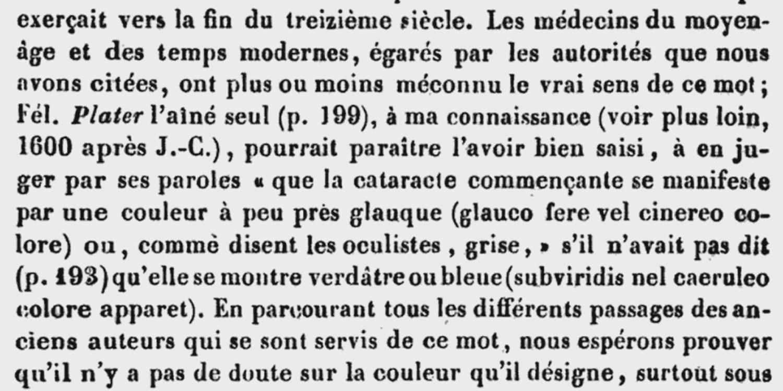 Annales d'oculistique  , Bruxelles, 1842 / Dr Florent Cunier