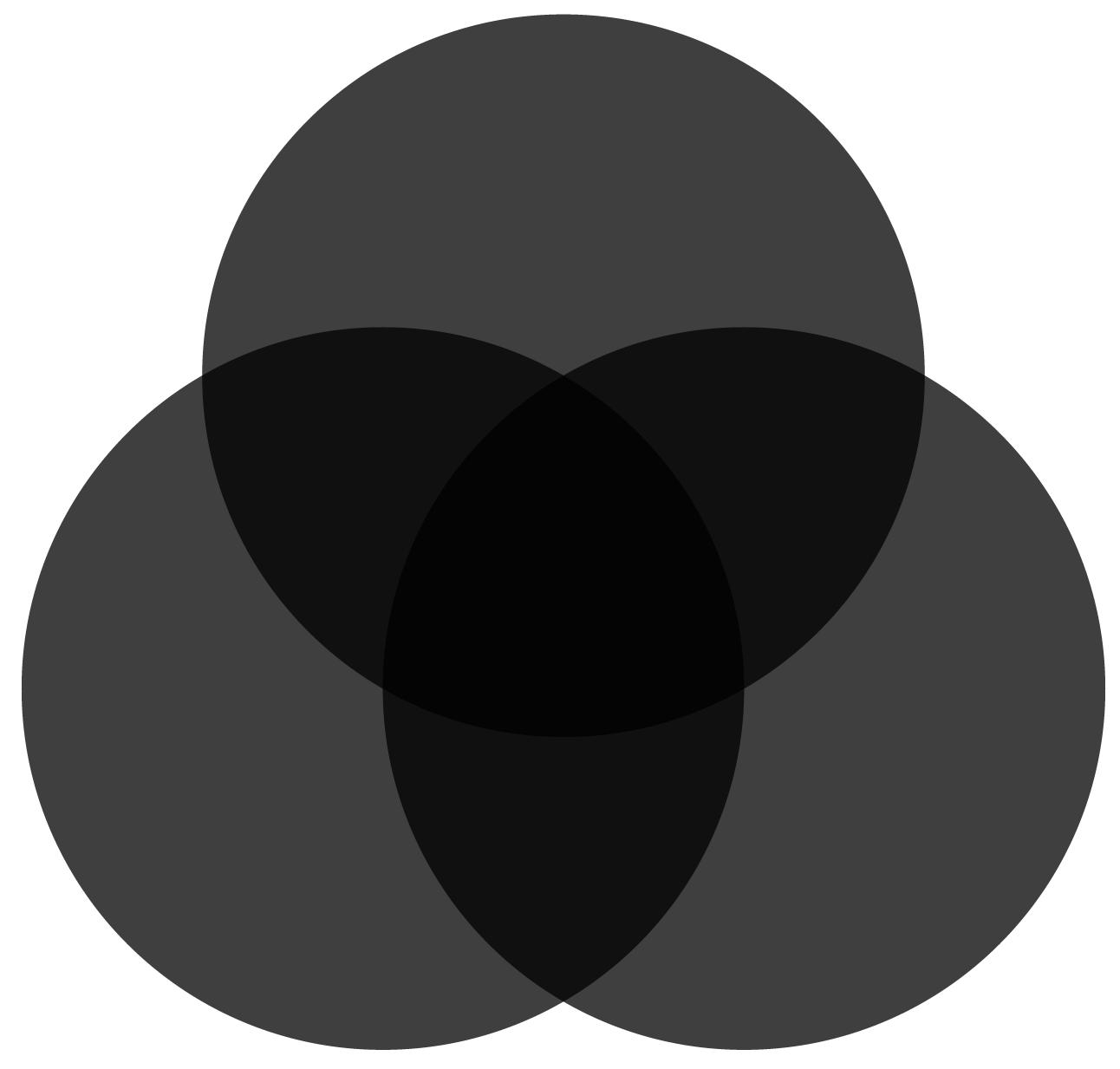 Synthèse soustractive :  du blanc vers le noir