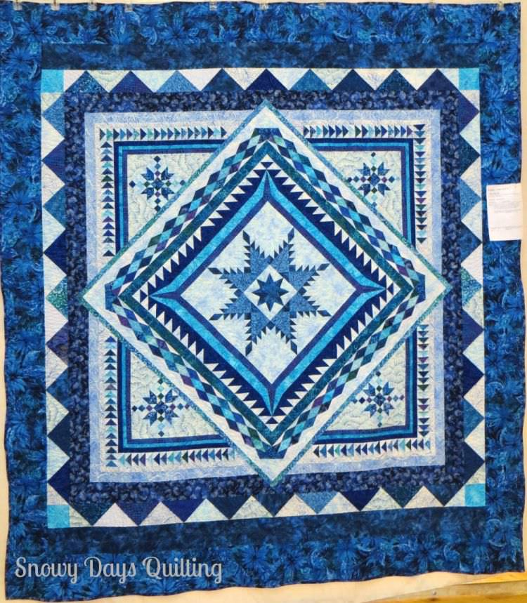 Feathered Star Quilt by Ellie Sigrist