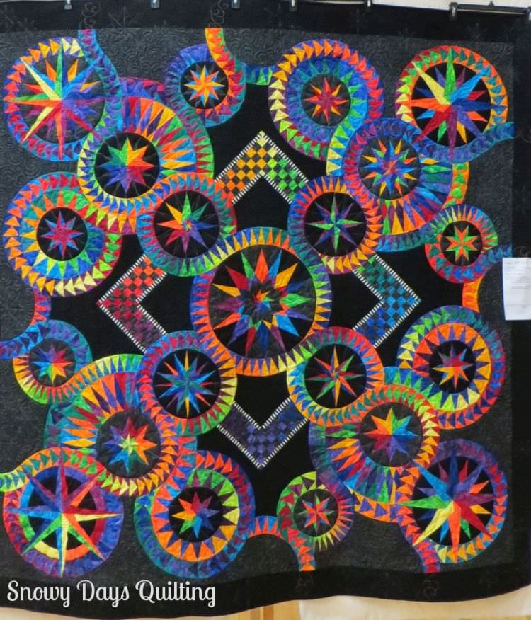 Catch Me... If You Can! quilt by Jacqueline de Jonge of Be Colourful
