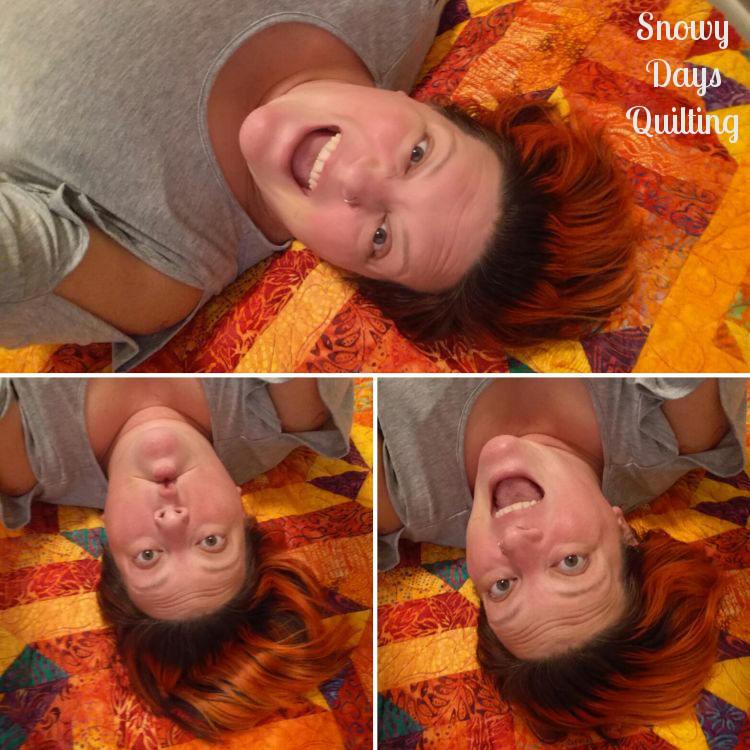 quilt selfie