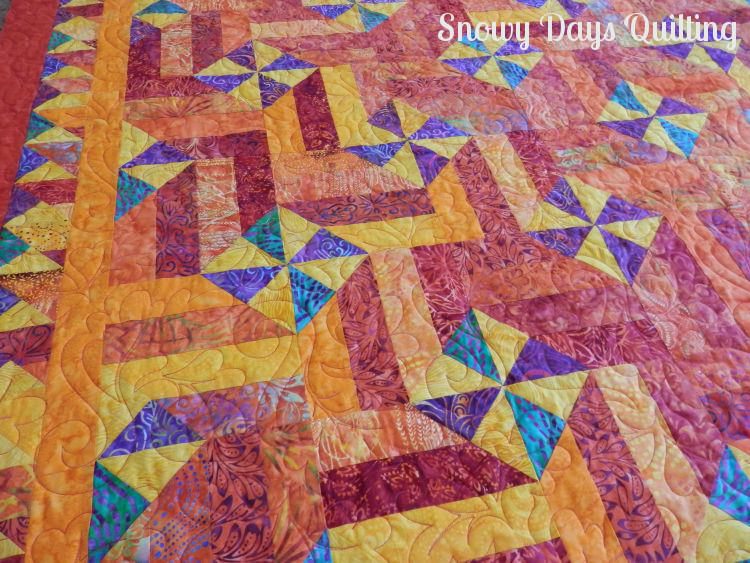 harvest winds quilting pantograph