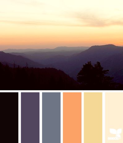 design seeds color season setting tones