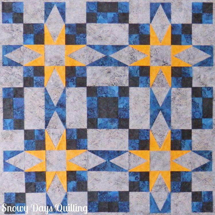 En Provence mystery quilt Bonnie Hunter
