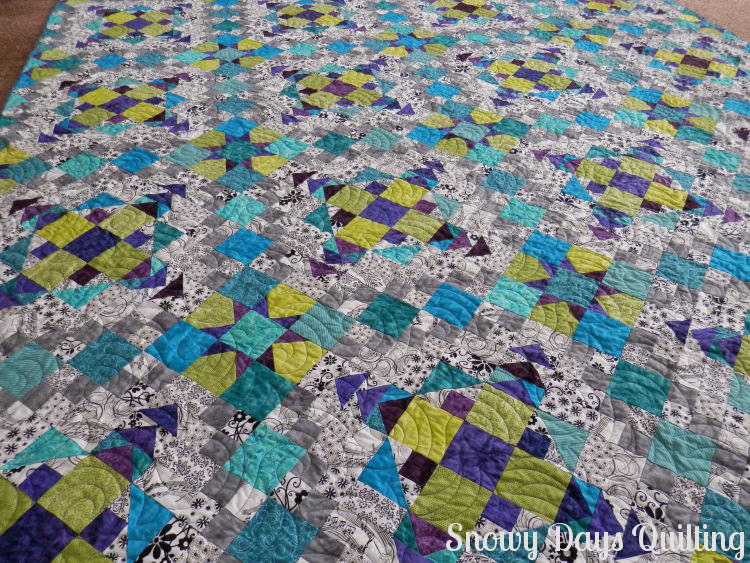 easy street quilt check and chase quilting