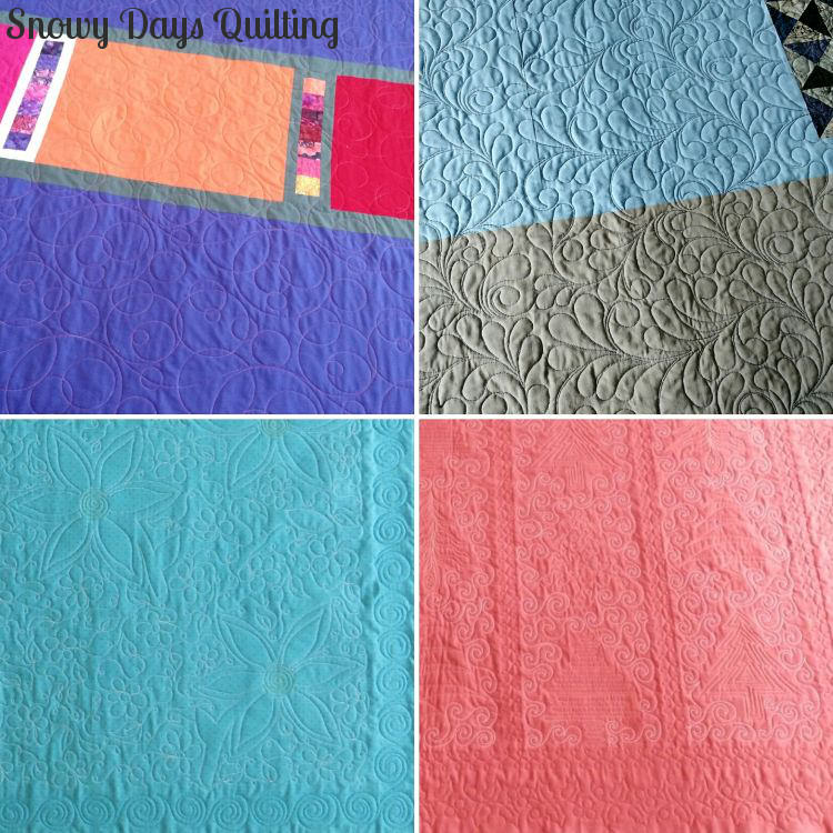 quilting on solid fabrics