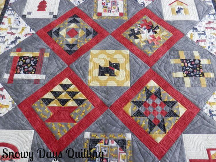 doggie baby quilt