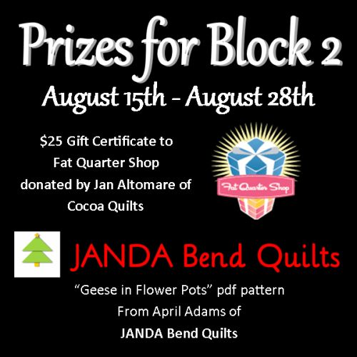 sponsored by cocoa quilts and janda bend quilts
