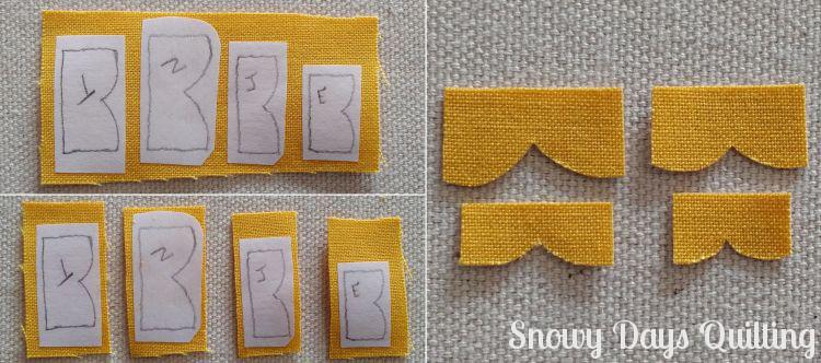 Christmas Memories quilt block applique tips
