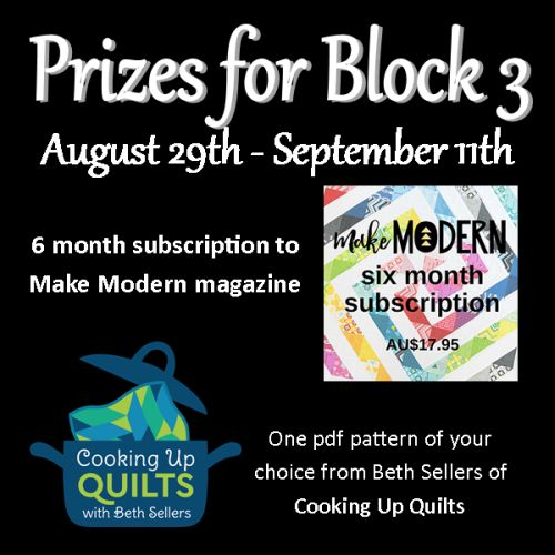 quilt along prizes
