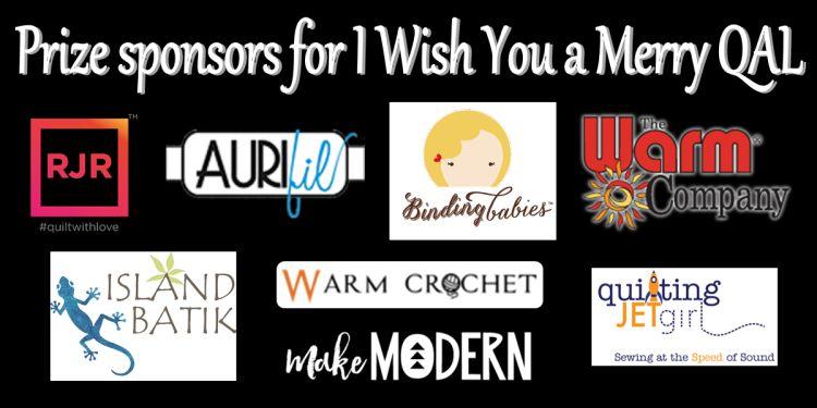 quilt along sponsors