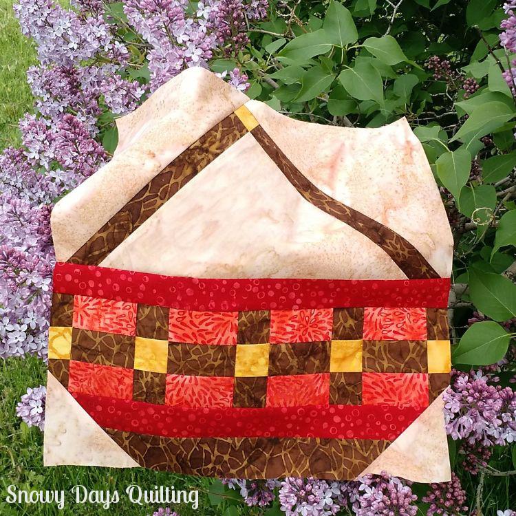 harvest basket quilt block