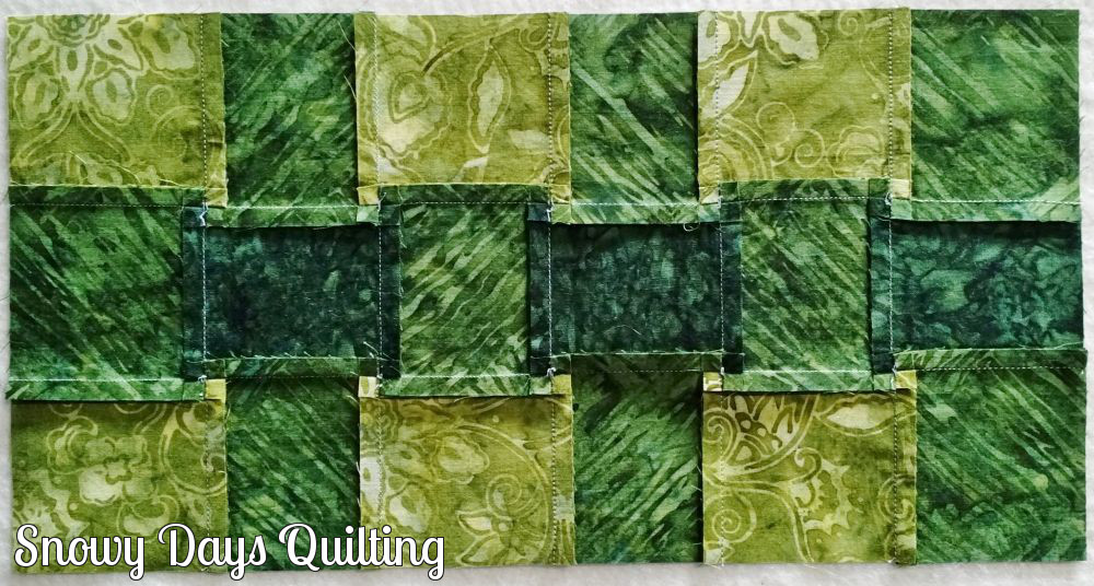 how to spin quilting seams
