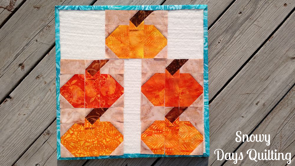 pumpkins aplenty using quilt block design boards