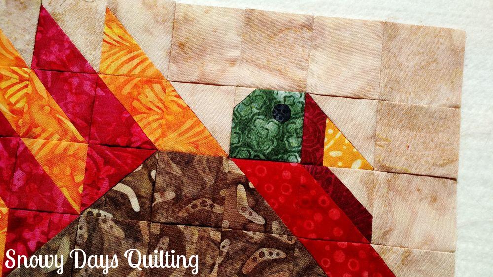 turkey quilt block