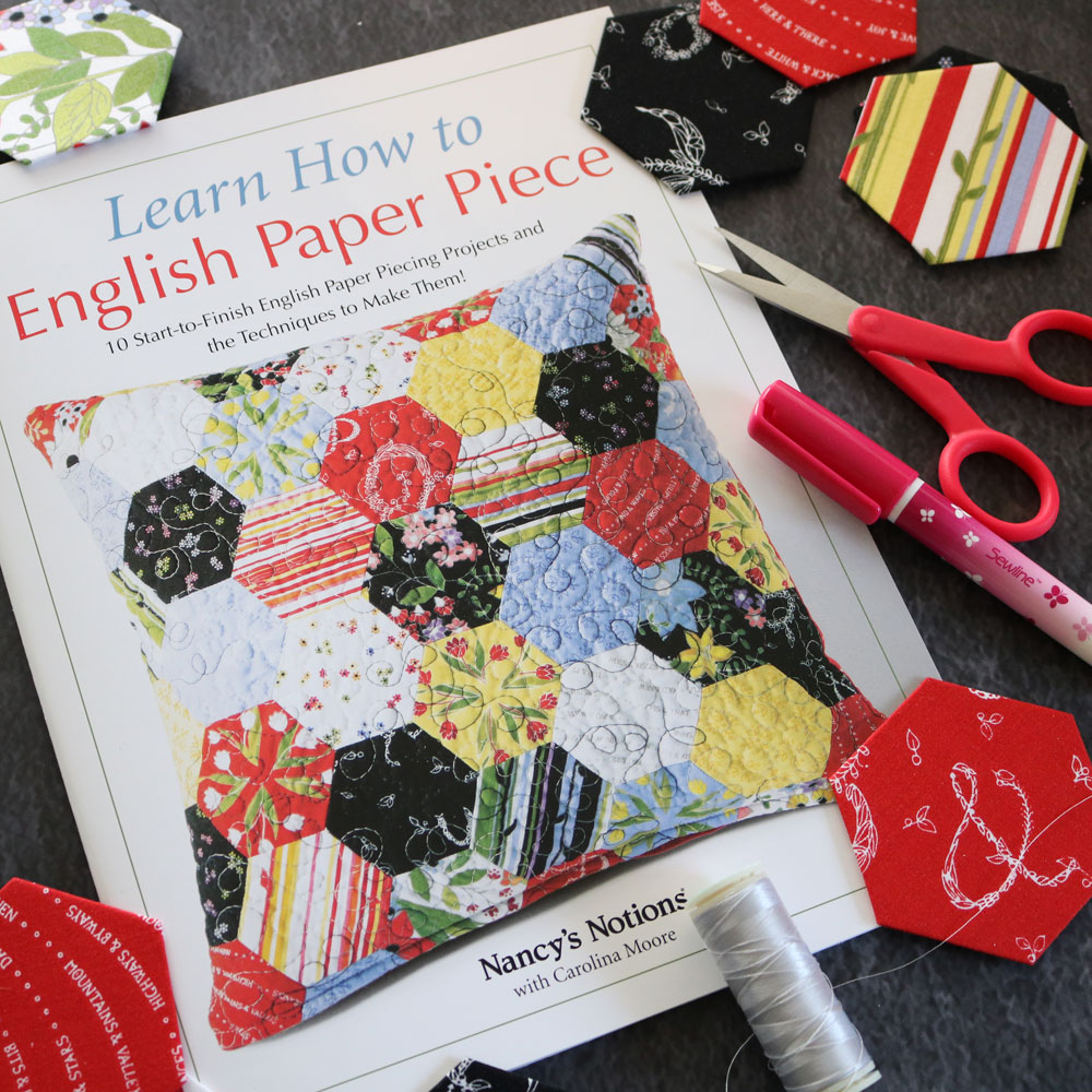 learn how to english paper piece carolina moore