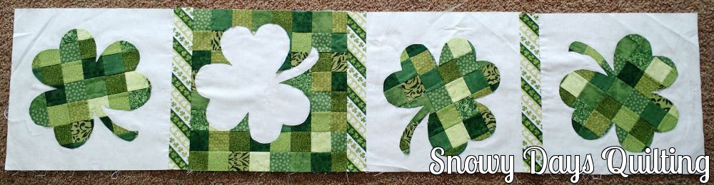 clover table runner