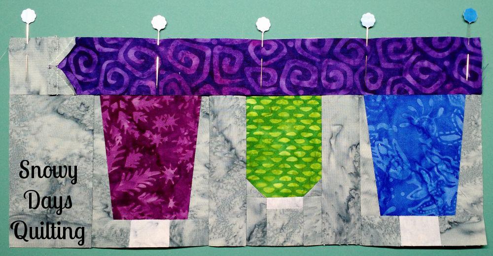 pinning quilt block